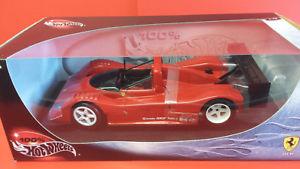 【送料無料】模型車 モデルカー スポーツカー フェラーリhotwheels 29230 118 ferrari 333sp plain red