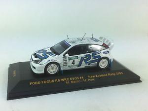 【送料無料】模型車 モデルカー スポーツカー ネットワークラムフォードフォーカスマーティンパーク#ニュージーランドラリーixo 143 ram115 ford focus wrc evo3 martin and park 4 zealand rally 2003