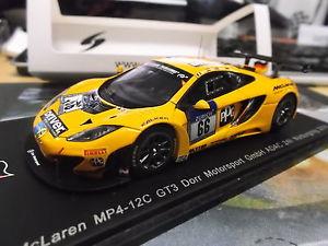 【送料無料】模型車 モデルカー スポーツカー マクラーレングアテマラレースモータースポーツ#スパークmclaren mp412c racing gt3 drr motorsport 24h nrbr 66 estre kox be spark 143