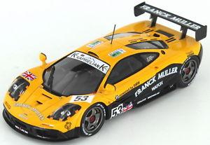 【送料無料】模型車 モデルカー スポーツカー マクラーレンルマン#mclaren f1 gtr bmw 53 le mans 1996 143 s4732