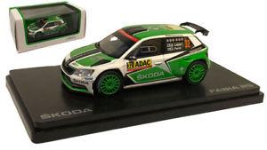 【送料無料】模型車 モデルカー スポーツカー ネットワークシュコダファビア#ドイツラリースケールabrex skoda fabia iii r5 32 german rally 2016 esapekka lappi 143 scale