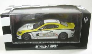【送料無料】模型車 モデルカー スポーツカー マセラティマセラティグランツーリスモグアテマラトロフェオmaserati granturismo mc gt4 16 trofeo 2010