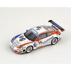 【送料無料】模型車 モデルカー スポーツカー ポルシェ#リーツスパークporsche 997 gt3 rsr 16 naracpiletlonglietz spa 2010 spark 143 sb002