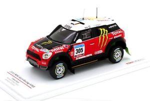 【送料無料】模型車 モデルカー スポーツカー ミニレーシング#ダカールラリースケールmini all4 racing 305 gchicherit dakar 2011 truescale 143 114351