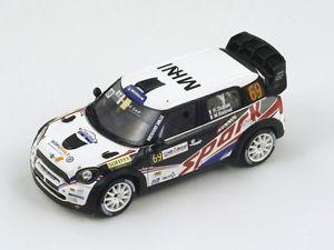 【送料無料】模型車 モデルカー スポーツカー デュマフランスミニジョンクーパーラリースパークmini john cooper wrc 69 dumas rally of france 2012 spark 143 sf040