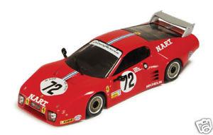 【送料無料】模型車 モデルカー スポーツカー フェラーリ#ルマンフェラーリコレクションferrari bb512lm nart 72 le mans 1982 ferrari collection 143 fer016