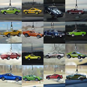 【送料無料】模型車 モデルカー スポーツカー フォードマスタングバックミラーハンガーオーナメントターボford mustang rear view mirror hanger dangler ornament gt turbo 50 years shelby