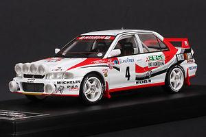 【送料無料】模型車 モデルカー スポーツカー ランサーエボモンテカルロラリー#mitsubishi lancer evo 4 1993 monte carlo rally hpi 8542 143