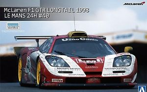 【送料無料】模型車 モデルカー スポーツカー マクラーレンロングテールルマンスカラaoshima mclaren f1 gtr longtail 1998 le mans 24h scala 124 cod 01419