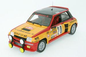 【送料無料】模型車 モデルカー スポーツカー ルノーターボサビーモンテカルロラリーシューズ118 renault 5 turbo saby rallye monte carlo1981 uh 4548