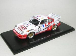 【送料無料】模型車 モデルカー スポーツカー ポルシェカレラルマンporsche 911 carrera rsr 78 lemans 1993