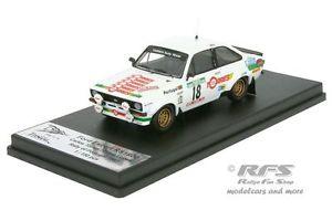 【送料無料】模型車 モデルカー スポーツカー フォードエスコートポルトガルラリートーレスford escort rs 1800 mk ii rallye portugal 1983 torres 143 trofeu rral 012
