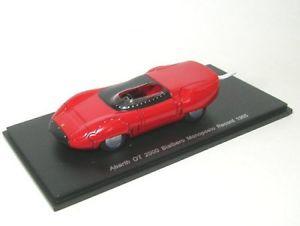 【送料無料】模型車 モデルカー スポーツカー レコードabarth ot 2000 bialbero monoposto record 1965 rot