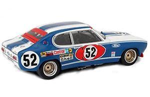 【送料無料】模型車 モデルカー スポーツカー フォードカプリモデルカールマンtrofeu 2302 ford capri 2600 rs model car glemsersolerroig 24h lemans 1972 143