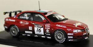 【送料無料】模型車 モデルカー スポーツカー スパークスケールアルファロメオ#モデルカーspark 143 scale s0477 alfa romeo 156 16 wtcc 2004 morbidelli resin model car