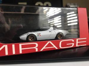 【送料無料】模型車 モデルカー スポーツカー ミラージュランチアプロトタイプホワイトrare mirage hpi 8448 lancia stratos hf prototype 1971 white integrale wrc 143