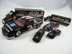 【送料無料】模型車 モデルカー スポーツカー デイルアーンハート#レースdale earnhardt ~ goodwrench racing 3 ~ transporters and cars