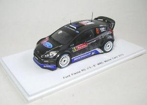 【送料無料】模型車 モデルカー スポーツカー フォードフィエスタラリーモンテカルロford fiesta rs wrc 5 8th rally monte carlo 2012