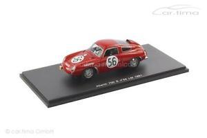 【送料無料】模型車 モデルカー スポーツカー アバルトルマンサラスパークabarth 700s 24h le mans 1961 sala rigamonti spark 143