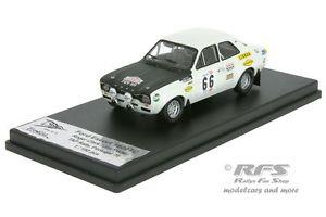 【送料無料】模型車 モデルカー スポーツカー フォードエスコートラリーポルトガルクラークポーターford escort 1600 tc rallye portugal 1970 clark porter 143 trofeu rral 019