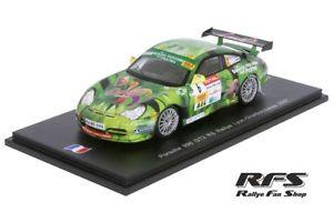 【送料無料】模型車 モデルカー スポーツカー ポルシェマクレーラリースパークporsche 996 911 gt3 rs delecour rallye lyoncharbonnieres 2007 143 spark sf