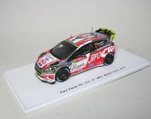 【送料無料】模型車 モデルカー スポーツカー フォードフィエスタラリーモンテカルロford fiesta rs wrc 21 9th rally monte carlo 2012
