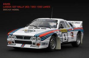 【送料無料】模型車 モデルカー スポーツカー #マティーニランチアラリーゼロックスモデルrare hpi 8285 lancia 037 martini 1983 1000 lakes rally xerox 143 model