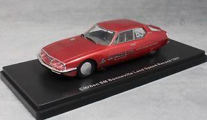 【送料無料】模型車 モデルカー スポーツカー ネオモデルシトロエンボンネビルランドスピードレコードカーneo models citroen sm 1987 bonneville land speed record car 202mph 46650 143