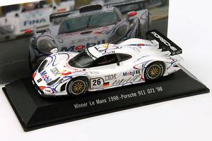 【送料無料】模型車 モデルカー スポーツカー ポルシェグアテマラ#ルマンマクニッシュporsche 911 gt1 26 winner 24h lemans 1998 mcnish, aiello, ortelli 143 spark