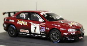 【送料無料】模型車 モデルカー スポーツカー スパークスケールアルファロメオ#モデルカーspark 143 scale s0463 alfa romeo 156 1 3rd etcc 04 tarquini resin model car