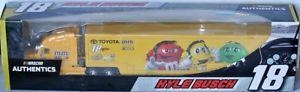 【送料無料】模型車 モデルカー スポーツカー ジョーギブスレーシングホーラチームトランスポーターカイルブッシュnascar hauler team transporter 2017 * joe gibbs racing * kyle busch 164 rare
