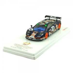 【送料無料】模型車 モデルカー スポーツカー モデルマクラーレンガルフレーシングルマンtsm model 143 mclaren f1 gtr gulf racing le mans 1995