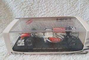 【送料無料】模型車 モデルカー スポーツカー スパーク#グランプリビタントニオリウッツィスケールspark s3017 hrt f111 23 chinese gp 2011 vitantonio liuzzi 143 scale
