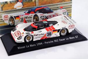 【送料無料】模型車 モデルカー スポーツカー ルマンポルシェ#ヘイウッドバルディdauer porsche 962 36 winner 24h lemans 1994 dalmas haywood baldi 143 spark