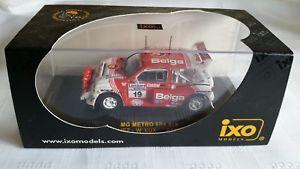 【送料無料】模型車 モデルカー スポーツカー ネットワークメトロラリーレースモータースポーツ ixo 143 mg metro 6r4 duez 1986 rac rally race motorsport