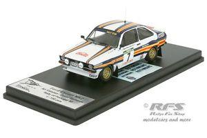 【送料無料】模型車 モデルカー スポーツカー フォードエスコートバタネンラリーポルトガルford escort rs 1800 mk ii rallye portugal 1980 vatanen 143 trofeu rral 032