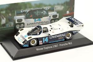 【送料無料】模型車 モデルカー スポーツカー ポルシェ#デイトナレースporsche 962 14 winner 24h daytona 1987 holbert racing 143 spark