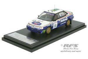 【送料無料】模型車 モデルカー スポーツカー スバルレガシィラリーアリバタネンsubaru legacy rs rac rallye 1991 ari vatanen 143 hpi 8187