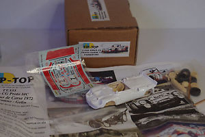 【送料無料】模型車 モデルカー スポーツカー キットモンタープロト#ツールドコルスtt533 kit a monter tip top simca cg proto 7 tour de corse 1972 143