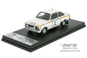 【送料無料】模型車 モデルカー スポーツカー フォードエスコートポルトガルラリーford escort rs 1800 mk ii rallye portugal 1977 waldegard 143 tr rral 040