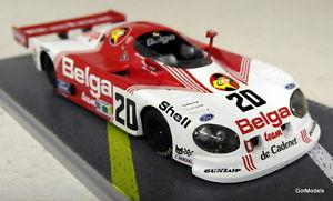 【送料無料】模型車 モデルカー スポーツカー スケールド#ルマンモデルカーbizarre 143 scale bz80 de cadinet belga 20 le mans 1981 resin model car