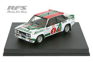 【送料無料】模型車 モデルカー スポーツカー フィアットアバルトフィンランドラリーfiat 131 abarth alen  kivimki rallye finnland 1978 143 trofeu kbt01