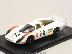 【送料無料】模型車 モデルカー スポーツカー ポルシェ#ルマンスパークporsche 908 64 le mans 1969 herrmann 143 spark s4746