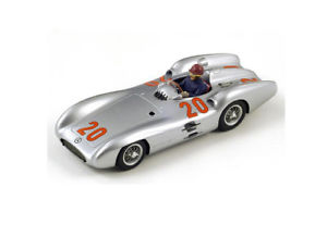 【送料無料】模型車 モデルカー スポーツカー メルセデスベンツカールフランスグランプリmercedes benz w196 karl kling french gp 2nd place 1954 s1036