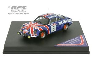 【送料無料】模型車 モデルカー スポーツカー ルノーアルパインラリーロンドデュalpine renault a110 panciatici rallye ronde giraglia 1976 143 trofeu cof13
