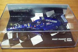 【送料無料】模型車 モデルカー スポーツカー プロストプジョーオリビエパニスゴロワーズデカールオリビエ143 prost 1998 peugeot ap01 olivier panis gauloises decals