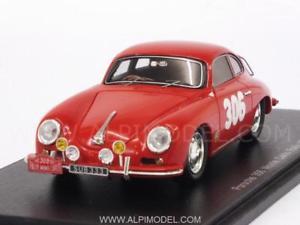 【送料無料】模型車 モデルカー スポーツカー ポルシェ#ラリーモンテカルロスパークporsche 356 306 rally monte carlo 1958 stross 143 spark s1354