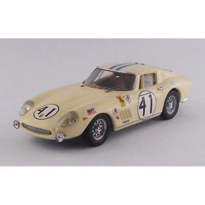 【送料無料】模型車 モデルカー スポーツカー フェラーリグアテマラスモードferrari 275 gtb4 n41 23th winner gt5 class sposeyrrodriguez 143 automode
