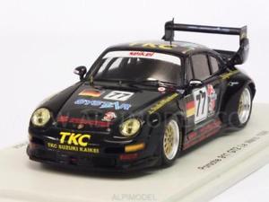 【送料無料】模型車 モデルカー スポーツカー ポルシェグアテマラ#ルマンスパークporsche 911 gt2 77 le mans 1996 szuki kuster 143 spark s4447