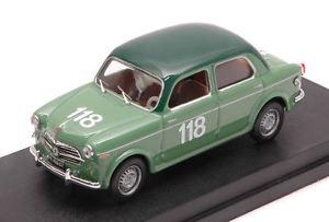 【送料無料】模型車 モデルカー スポーツカー フィアットテレビ#クラスモデルfiat 1100103 tv 118 55th winner class mm 1955 mandrini bertassi 143 model